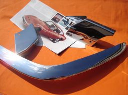 Opel GT Chrome Bumperset, complete